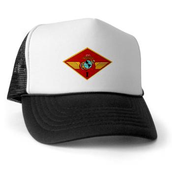 1MAW - A01 - 02 - 1st Marine Aircraft Wing with Text - Trucker Hat